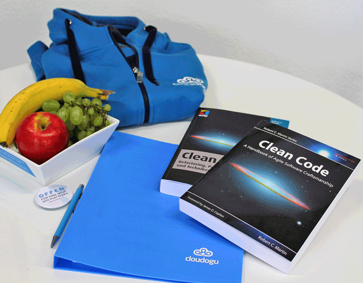 Welcome package for new clean coders who are joining the team